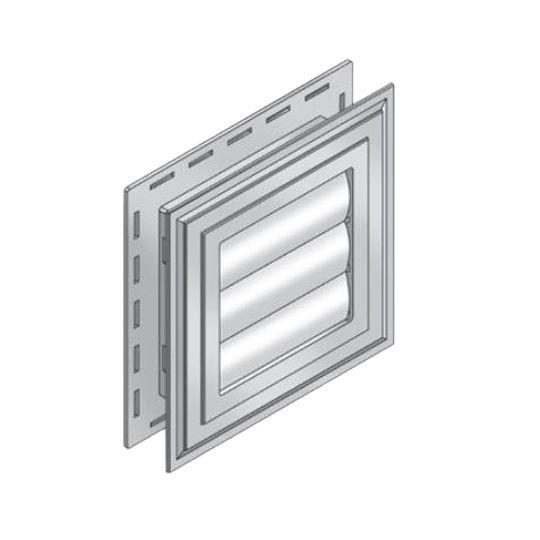 Royal Building Products B-Vent Exhaust Vent Carbon