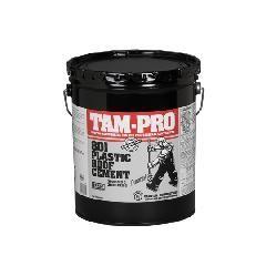TAMKO TAM-PRO 801 Plastic Roof Cement - Winter Grade - 5 Gallon Pail