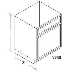 Kitchen Kompact V24S Bretwood Vanity Cabinet