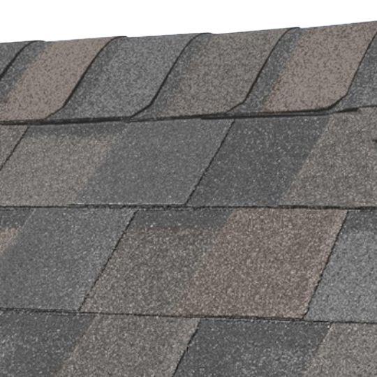 "CertainTeed Roofing 13-1/4"" x 39-3/8"" Shadow Ridge® Hip & Ridge Accessory Shingles (Metric) Mist White"