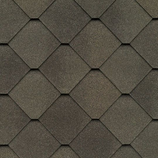 GAF Sienna® Shingles with StainGuard Protection Heirloom Brown