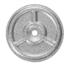"""Olympic Manufacturing 3"""" Galvanized Ribb Plate - 100 Pack"""