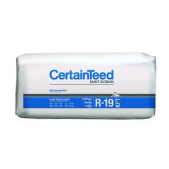 "Certainteed - Insulation 6-1/4"" x 15"" x 39' 2"" R-19 Perforated Kraft..."