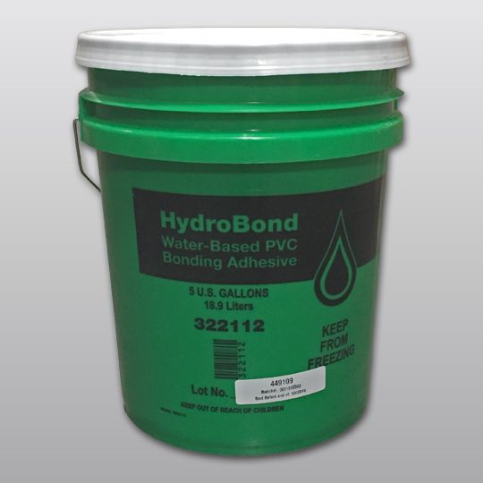 Carlisle Syntec Sure-Flex™ PVC HydroBond™ Water-Based Adhesive 5 Gallon Pail Light Tan