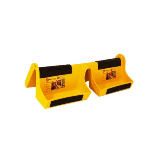 Roofers World Ladder Mount™ Gutter Docking Station Yellow