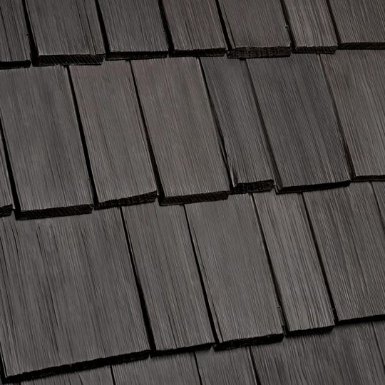 Davinci Roofscapes Bellaforte Shake Rake Weathered Grey-VariBlend