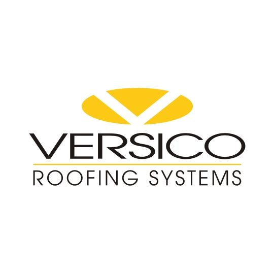 "Versico 60 mil x 10' x 100' VersiGard Black EPDM Non-Reinforced FR Membrane with 3"" Quick-Applied Tape - Single Pack"