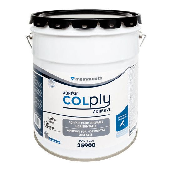Soprema COLPLY® Adhesive Low-VOC Polymer Modified Cold Process - 5 Gallon Pail