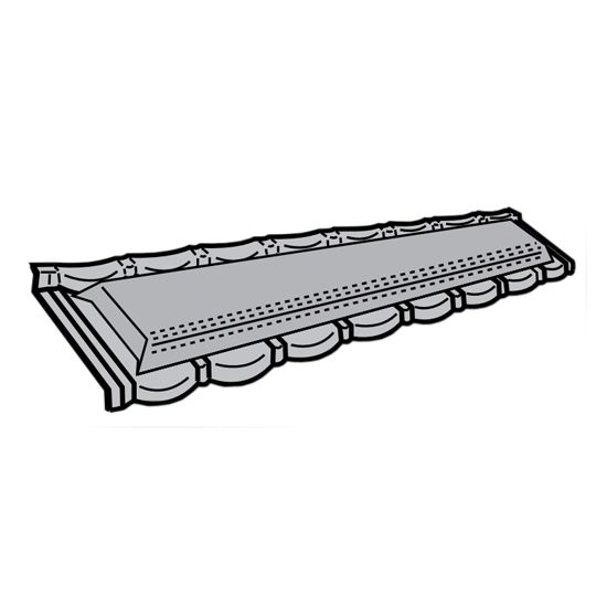 Metro Roof Products Metro-Tile II Smart Vent Weathered Timber