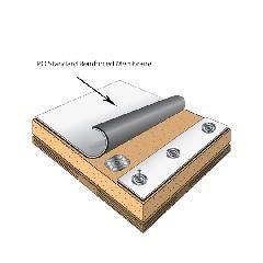 WeatherBond 60 mil 6' x 100' TPO Standard Reinforced Membrane