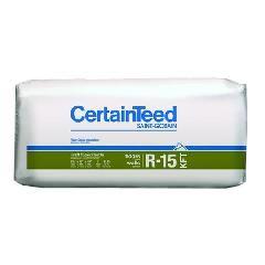 "Certainteed - Insulation 3-1/2"" x 15"" x 93"" Sustainable R-15 Kraft Faced..."