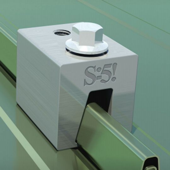 S-5! Metal Roof Innovations S-5-N Clamp