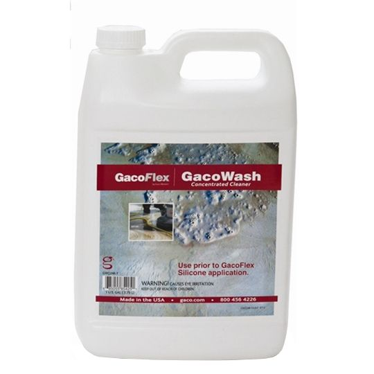 Gaco Western GacoFlex® GacoWash Concentrated Cleaner - 1 Gallon Pail Clear Yellow/Amber
