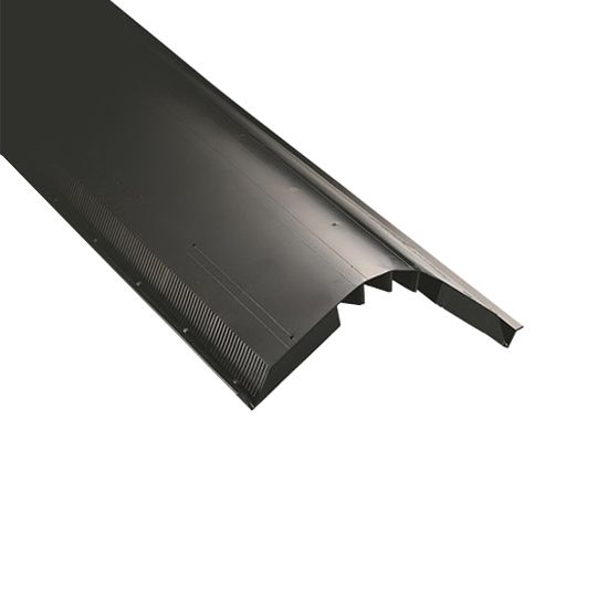 "CertainTeed Roofing 12"" x 4' Unfiltered Ridge Vent"