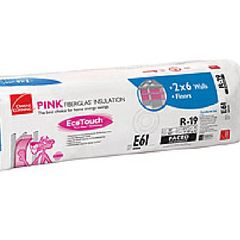 "Owens Corning 6-1/4"" x 23"" x 39'2"" R-19 RU41 EcoTouch® PINK®..."