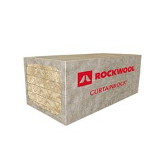 "Rockwool 2"" x 2' x 4' CURTAINROCK® 80 with Reinforced Foil Facer -..."
