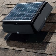 Owens Corning VentSure Roof Mount Solar Attic Fan with RAM