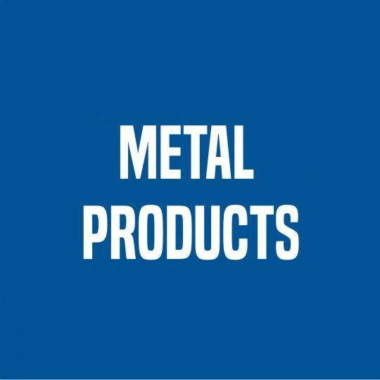 Metal Products 30 Gauge x 2 x 3 Steel Gutter Guard Brown