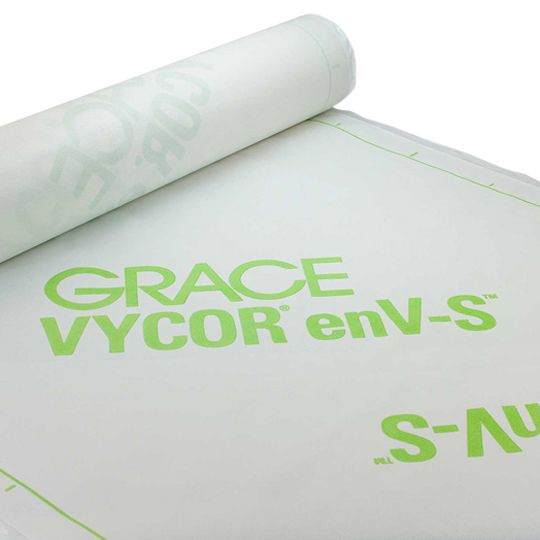 "GCP Applied Technologies 40"" x 135' Vycor® enV-S Weather Resistive Barrier - 4.5 SQ. Roll"