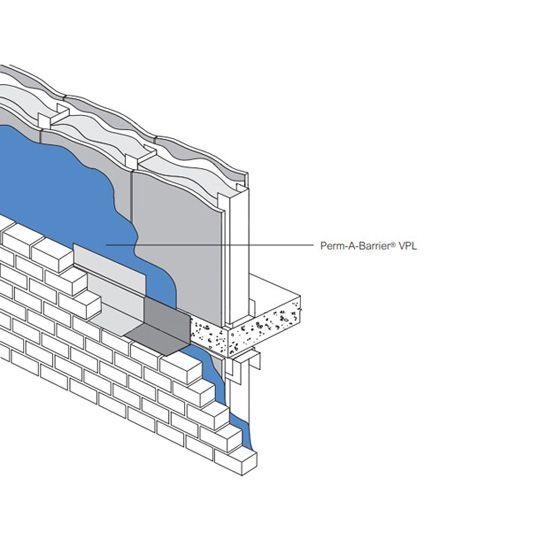 GCP Applied Technologies Perm-A-Barrier® VPL - 5 Gallon Pail Green
