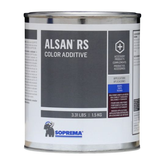 Soprema ALSAN® RS Color Additive 1.5 kg Can Traffic Yellow