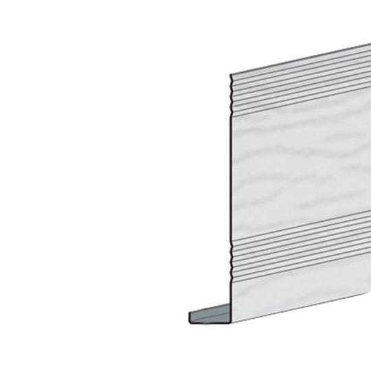 """Edco Products 6"""" Steel Fascia Cover - PVC Finish Wickertone"""