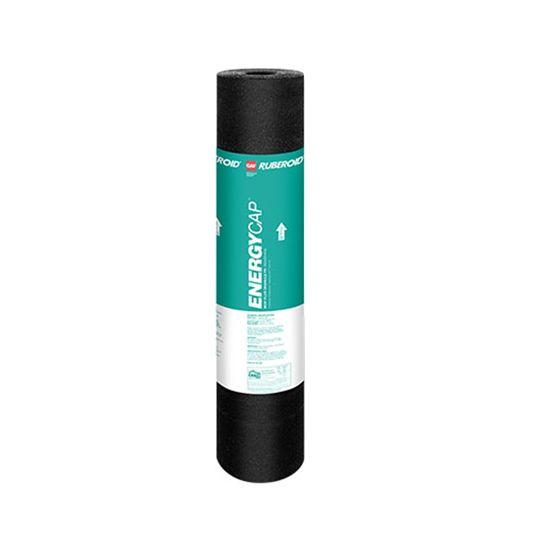 "GAF 0.155"" 39-5/8"" x 32.56' RUBEROID® EnergyCap™ Mop Plus Granule FR Membrane White"