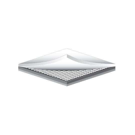 Carlisle Syntec 135 mil 10' x 65' Sure-Flex™ FleeceBACK® PVC FRS Membranes White