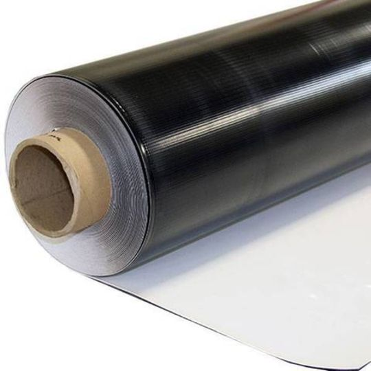 Carlisle Syntec 60 mil 4' x 100' Sure-Weld® TPO Reinforced Standard Membranes with APEEL™ Protective Film White
