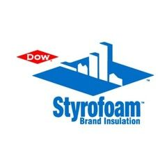 """DOW 5/16"""" x 4' x 50' Level-R Fanfold Insulation Board - 2 SQ. Bundle"""