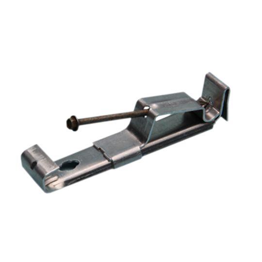 """Englert 5"""" Aluminum Hanger with Screw (No Clip/Hem Back)"""