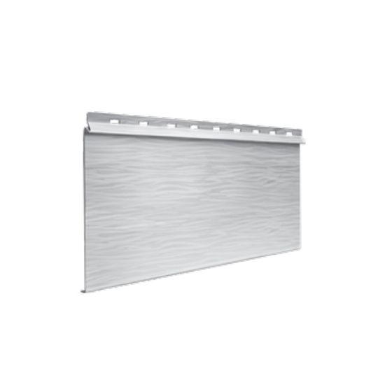 "Quality Edge 26 Gauge x 12'6-1/2"" TruCedar® Single 6"" Steel Siding Ironstone"