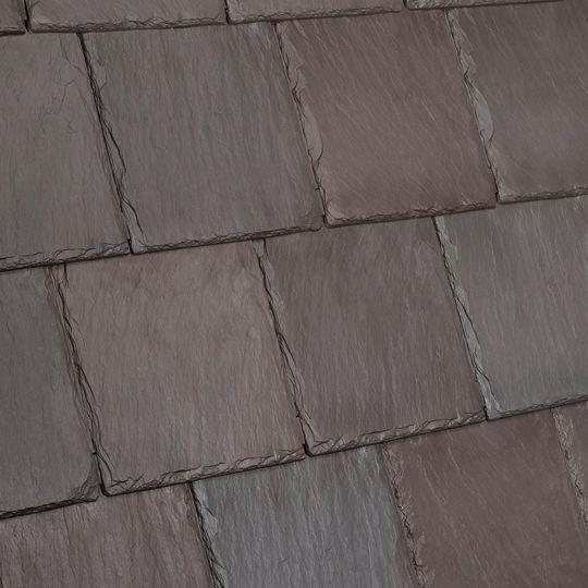 Davinci Roofscapes Bellaforte Slate One-Piece Hip & Ridge Evergreen Blend