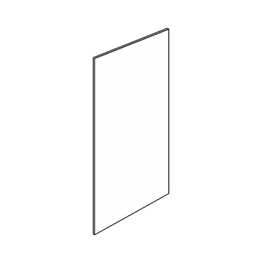 """Wolf Distributing 48"""" x 96"""" Plywood Veneer Finished End Panel"""