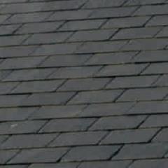 "SSQ International 20"" x 11"" Domiz Seca Grey Roofing Slate"
