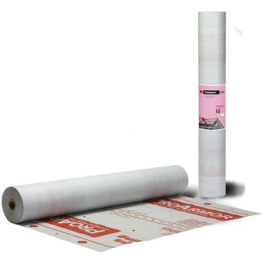 Owens Corning ProArmor Synthetic Roof Underlayment with Slip-Resistant Fusion Back Coating Technology