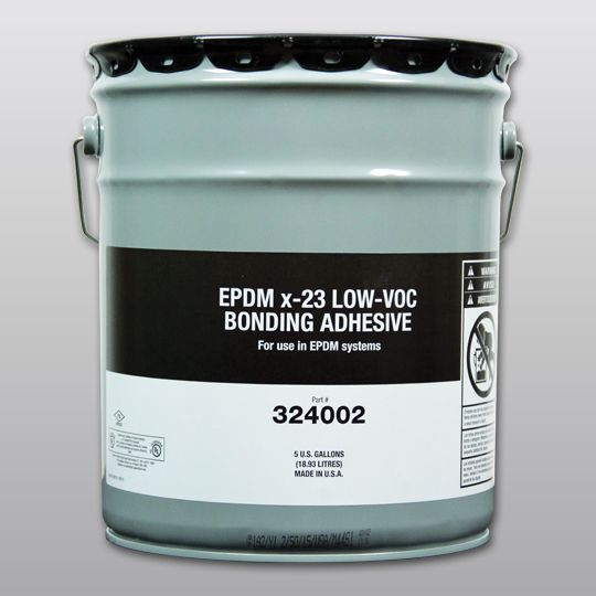 Carlisle Syntec EPDM X-23 Low-VOC Bonding Adhesive 5 Gallon Pail Yellow