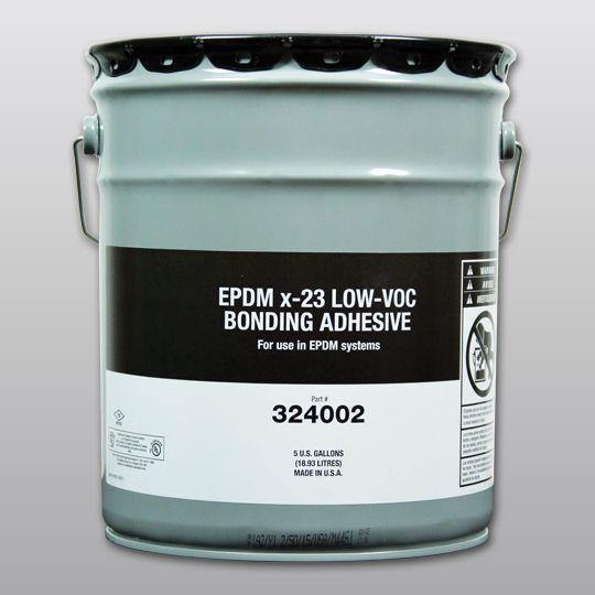 Carlisle Syntec EPDM X-23 Low-VOC Bonding Adhesive 5 Gallon Pail Yellow
