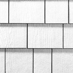 "James Hardie 1/4"" x 15.25"" x 48"" HardieShingle® Straight Edge Panel..."