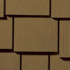 "James Hardie 1/4"" x 15.25"" x 48"" HardieShingle® Staggered Edge Panel..."