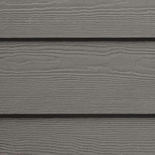 "James Hardie 5/16"" x 8.25"" x 12' HardiePlank® Select Cedarmill Lap Siding for HardieZone® 5 Aged Pewter"
