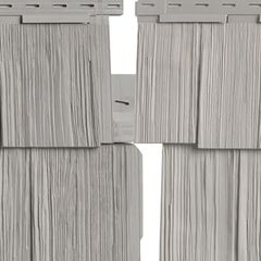 "Variform By PlyGem Heritage Cedar Double 9"" Hand-Split Shingle Siding"
