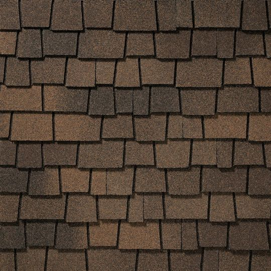"GAF 12-1/2"" x 36-5/16"" Glenwood® Shingles Adobe Clay"