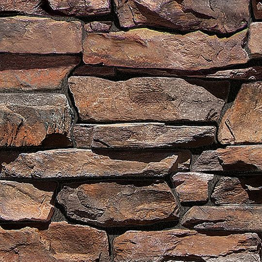 Coronado Stone Rocky Mountain Ledge - 90 Lin. Ft. Big Box Corners Bitterroot