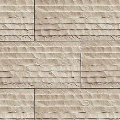 "Coronado Stone 4"" x 2' Chiseled Limestone Flat - Sold Individually"