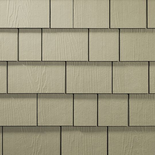 "James Hardie 1/4"" x 4.2"" x 15.25"" HardieShingle® Individual Shingle Siding for HardieZone® 5 Night Grey"