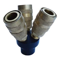 C&R Manufacturing 3-Way Air Hose Adapter