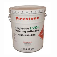 Firestone Building Products Single-Ply LVOC Bonding Adhesive 1168 - 5...