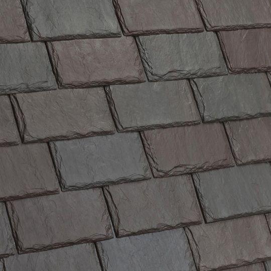 Davinci Roofscapes Single-Width Slate Castle Grey-VariBlend