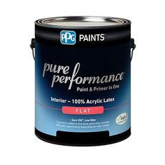 PPG Industries (9-310) Pure Performance® Interior Eggshell Latex...
